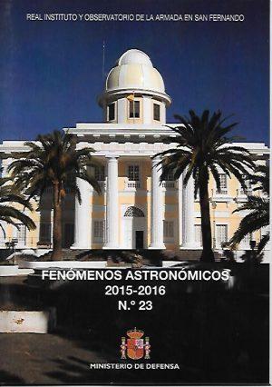 FENOMENOS ASTRONOMICOS 2015-2016