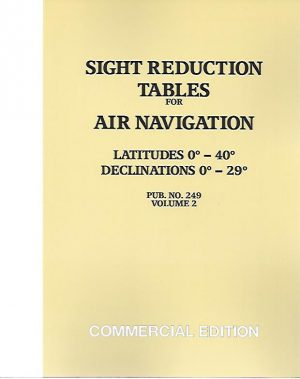SIGHT REDUCTION TABLES   V. 2