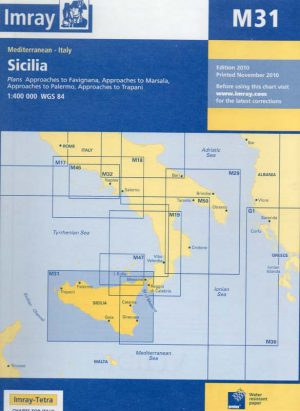 CARTA IMRAY M31 SICILIA