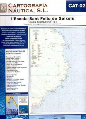 CAT-02 L'ESCALA- SANT FELIU DE GUIXOLS