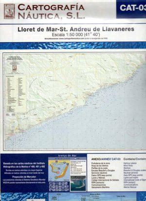 CAT-03 LLORET DE MAR-ST.ANDREU DE LLAVANERES