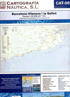 CAT-05 BARCELONA-VILANOVA I LA GELTRU