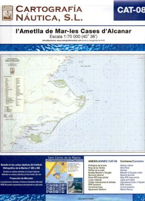 CAT-08 L'ATMELLA DE MAR-LES CASES D'ALCANAR