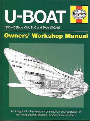 U-BOAT 1936-45. TYPE VIIA, B, C AND TYPE VIIC/41