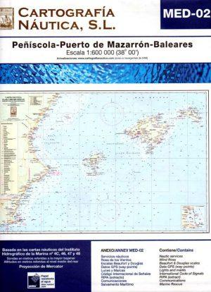 MED-02 PEÑISCOLA-PUERTO DE MAZARRON-BALEARES