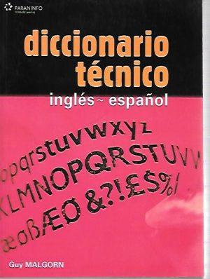 DICCIONARIO TECNICO. INGLES-ESPAÑOL