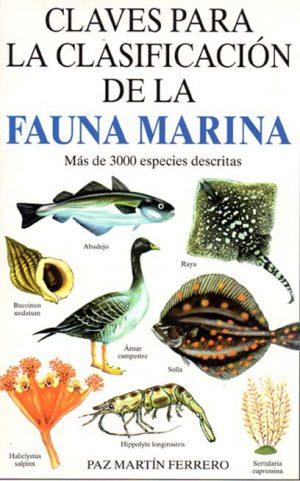 CLAVES PARA LA CLASIFICACION DE LA  FAUNA MARINA