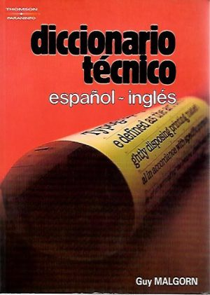 DICCIONARIO TECNICO ESPAÑOL-INGLES