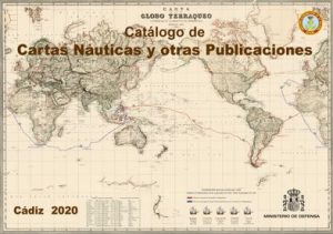CATALOGO CARTAS NAUTICAS