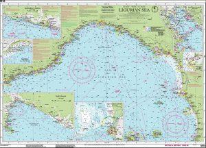 CARTA IMRAY M16 LIGURIAN SEA