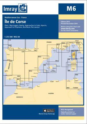 CARTA IMRAY M6 ILE DE CORSE