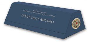CARTA DEL CANTINO.